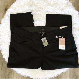 Lane Bryant Allie Slim Crop Black Pants sz 18